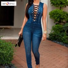 Sexy Hollow Out Summer Elegant Overalls For Women